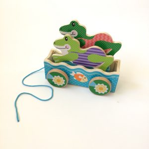 Melissa & Doug® First Play Friendly Frogs Pull Toy