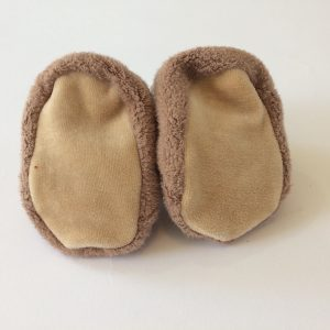 Apple Park Organic Patterned Booties – Owl