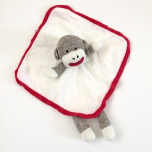 Baby Starters Sock Monkey Security Blanket
