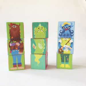 Crocodile Creek Make-A-Zoo Puzzle Block Set