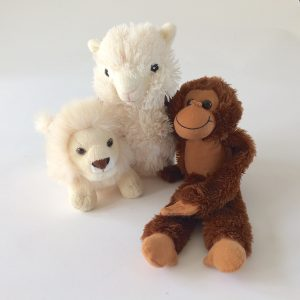 Cuddly Wild Animal Plush Toys