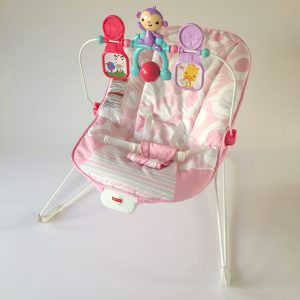 Fisher-Price Deluxe Bouncer – Pink Ellipse