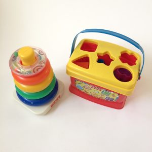 Fisher-Price Shape Sorter and Rock-A-Stack