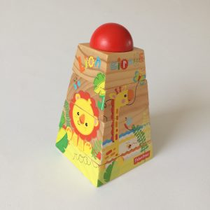 Fisher-Price Wooden Stacking Toy