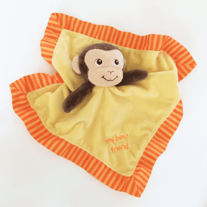 Garanimals My Best Friend Monkey Baby Blanket