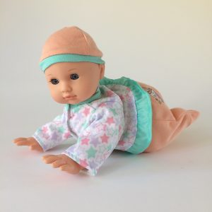 Gi-Go Baby Doll – Coos, Giggles and Crawls