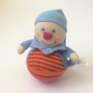 HABA Kasper Roly Poly Clown Wobbling & Chiming Toy