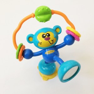 Infantino Stick Spin High Chair Monkey Toy