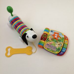 Letters and Rhymes Toy Set