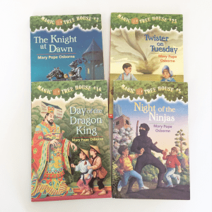 Magic Tree House Set of 4