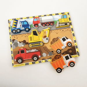 Melissa & Doug Construction Vehicle Puzzle