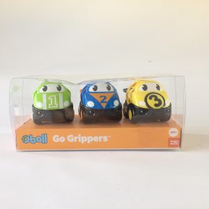 Oball 3 Piece Go Grippers Vehicles, Race Car-3 pack