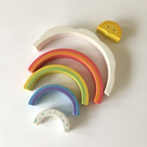 Rainbow Tunnel by Tender Leaf Toys