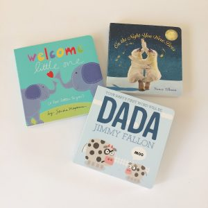 Set of 3 Baby Board Books