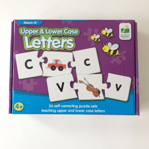 The Learning Journey: Match It! – Upper & Lower Case Letters