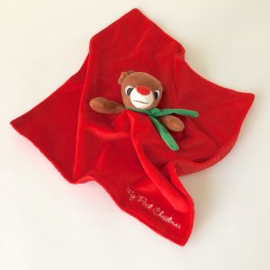Ultra-soft Holiday Baby Security Blankets