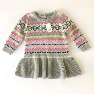 Baby Gap Sweater Dress – 6-12M