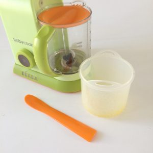 Beaba Baby Cook Macaroon 4-in1 Steam Cooker and Blender