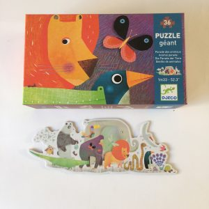 Djeco Animal Parade Giant Floor Puzzle
