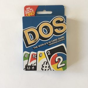 Dos Card Game by Mattel