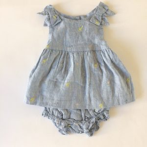 Janie & Jack Linen Dress – 12-18M