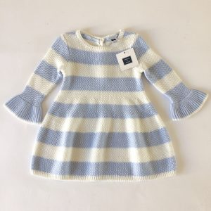 Janie & Jack Striped Sweater Dress – 6-12M