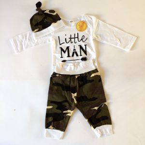 Little Man 3-Piece Set – Size 90