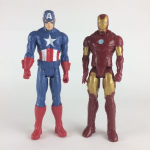Marvel Captain America and Ironman Action Figures