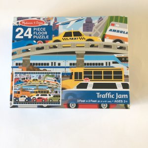 Melissa & Doug Traffic Jam Floor Puzzle
