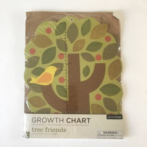 Petit Collage Growth Chart – Tree Friends