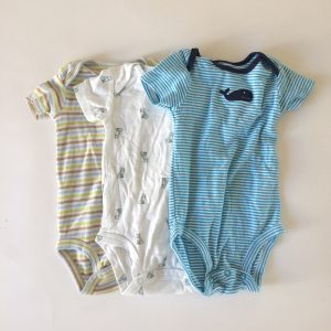 Playful Carter's Onesies – 6M