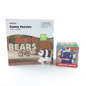Puzzle and Memory Game Set