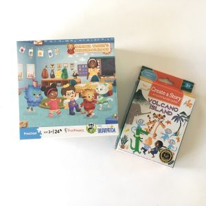 Puzzle and Story Card Set