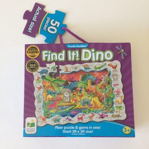 The Learning Journey Find It Dino Puzzle