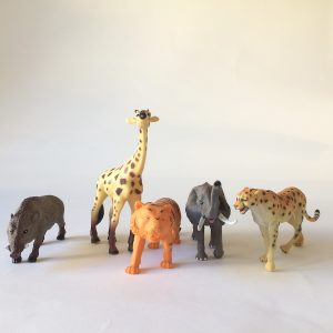 Wild Safari Animal Figurines