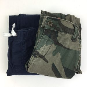 Blue and Camo Pants Size 4T
