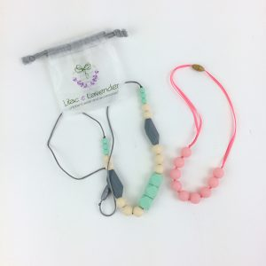Silicone Bead Teething Necklaces