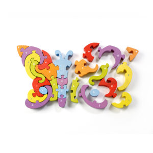BeginAgain Butterfly A-Z Puzzle