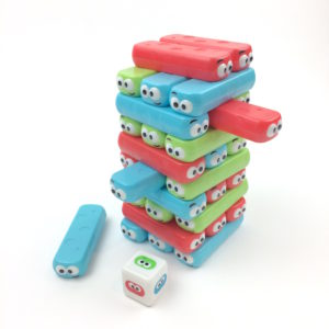 Colored Blocks Stacking Board Games
