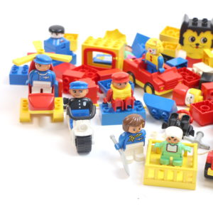 People and Vehicles Duplo Set