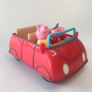 Peppa Pig Push Car
