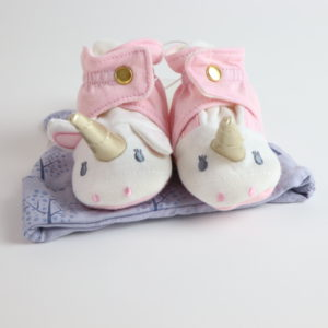 Hat and Bootie Set