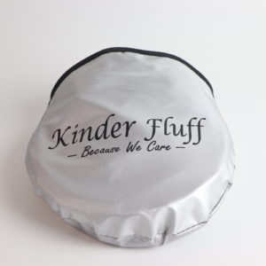 Kinder Fluff Static Cling Car Sun Shades Set of 2