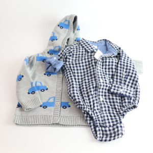 Baby Gap Sweater and Button-Up Size 18-24M