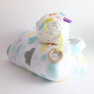 Cloud Blanket and Infant Toy