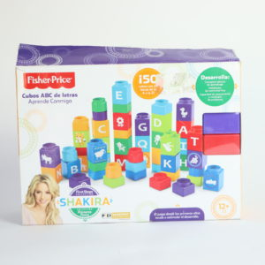 Fisher-Price First Steps Stack n Learn Spanish Blocks