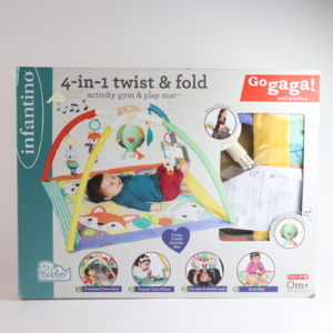 Infantino 4-in-1 Twist and Fold Activity Gym and Play Mat