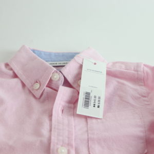Janie and Jack Pink Button-Up Size 12-18M