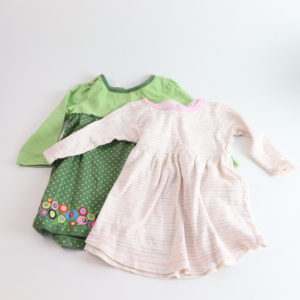 Long-Sleeved Dresses Size 2T