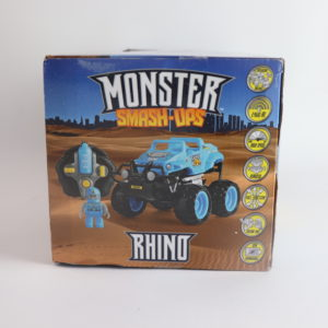 Monster Mashups Rowdy Rhino Remote Controlled Monster Truck